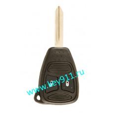 Корпус ключа Джип (Jeep) | Y160 | 2 кнопки