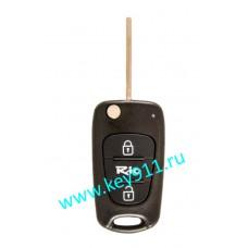 Корпус выкидного ключа Киа Рио (Kia Rio)   TOY48   2 кнопки