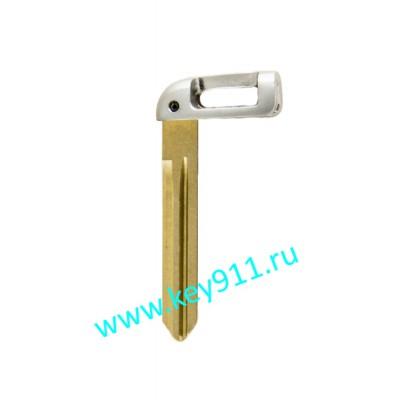 Лезвие вставка для смарт ключа Киа (Kia) | HYN14 right