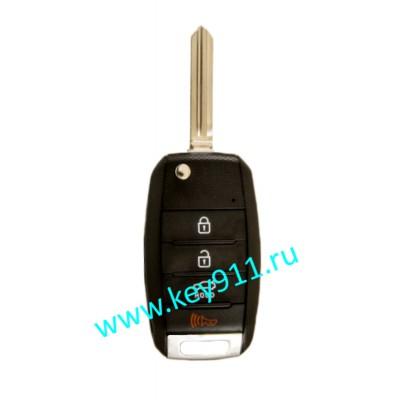Корпус выкидного ключа Киа (Kia) | HYN14R | 4 кнопки