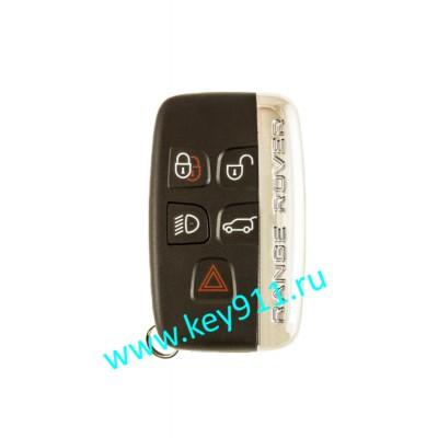 Корпус смарт ключа Лэнд Ровер (Land Rover) | 5 кнопок