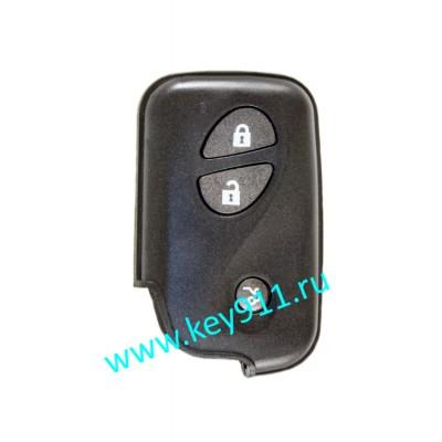 Корпус смарт ключа Лексус (Lexus) | 3 кнопки