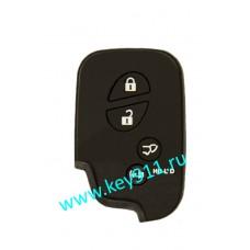 Силиконовый чехол для смарт ключа Лексус (Lexus)   4 кнопки