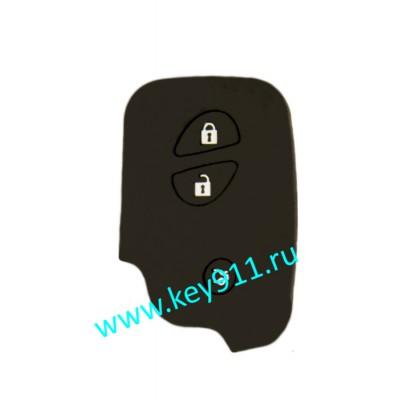 Силиконовый чехол для смарт ключа Лексус (Lexus) | 3 кнопки