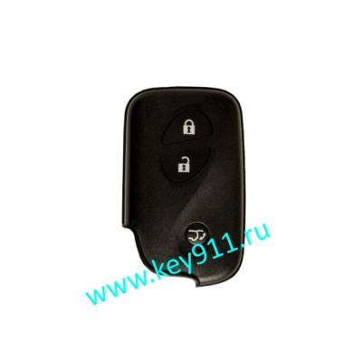 Смарт ключ для Лексус LX570 (Lexus LX570)  | 2008-2015 | 3 кнопки | MDL B77EA | P1-98 | 433MHz Европа
