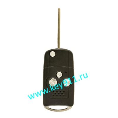 Корпус выкидного ключа Лексус (Lexus) | TOY43 | 3 кнопки