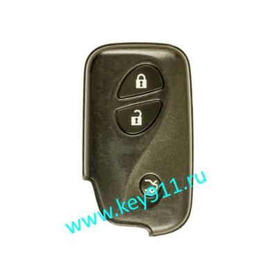 Смарт ключ для Лексус GS450H. LS600H/600HL (Lexus GS450H. LS600H/600HL)   2008-2009   3 кнопки   MDL B53EA   P1-98   433MHz Европа