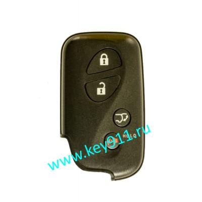 Смарт ключ для Лексус RX270/350/450H (Lexus RX270/350/450H)   3 кнопки + паника   HYQ14ACX   P1-98   315MHz Америка