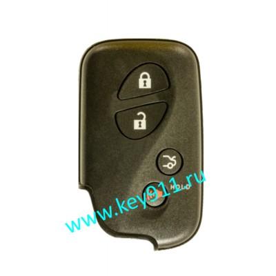 Смарт ключ для Лексус ES350. GS350/430/460. IS250/350. LS460/460L/600/600HL (Lexus ES350. GS350/430/460. IS250/350. LS460/460L/600/600HL) | 3 кнопки + паника | HYQ14AAB | P1-D4 | 315MHz Америка