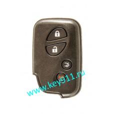Корпус смарт ключа Лексус (Lexus)   3 кнопки + паника