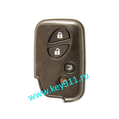 Корпус смарт ключа Лексус (Lexus) | 3 кнопки + паника
