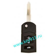 Корпус выкидного ключа Мазда (Mazda) | MAZ24 | 3 кнопки