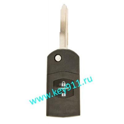 Корпус выкидного ключа Мазда (Mazda)   MAZ24   2 кнопки