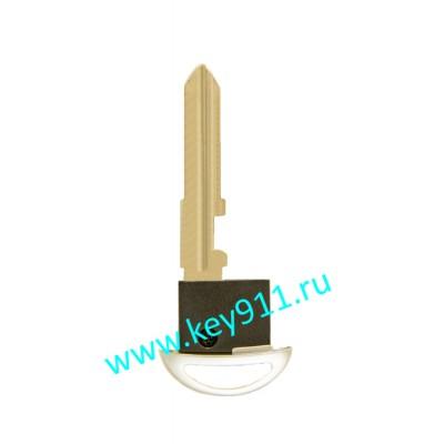 Лезвие вставка для смарт ключа Mazda (Мазда) | MAZ24 | под чип