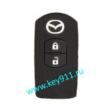 Силиконовый чехол для смарт ключа Мазда (Mazda)   2 кнопки