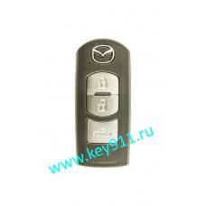 Корпус смарт ключа Мазда (Mazda) | 3 кнопки
