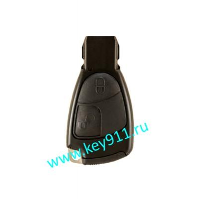 Корпус ключа Мерседес рыбка  (Mercedes rybka) | 2 кнопки