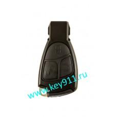 Корпус ключа Мерседес рыбка  (Mercedes rybka) | 3 кнопки