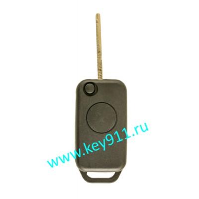 Корпус выкидного ключа Мерседес (Mercedes)   HU64   1 кнопка