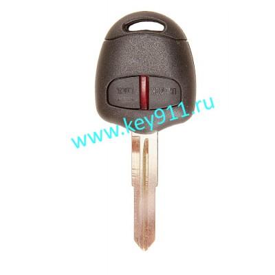 Ключ для Мицубиши Аутлендер, Лансер, ASX  (Mitsubishi Outlander, Lancer, ASX) | MIT11 | PCF7936 | 433MHz Европа | 2 кнопки