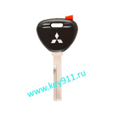 Заготовка ключа Мицубиши (Mitsubishi) | HU56 | под чип