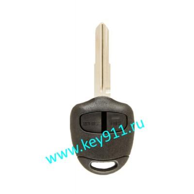 Корпус ключа Мицубиши (Mitsubishi) | MIT11 | 2 кнопки