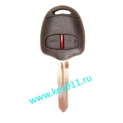 Ключ для Митсубиси Паджеро, L200, Паджеро Спорт (Mitsubishi Pajero, L200, Pajero Sport) MIT8 | PCF7936 | 433MHz Европа | 2 кнопки