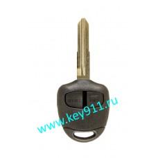 Корпус ключа Мицубиши (Mitsubishi) | MIT8 | 2 кнопки