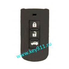 Силиконовый чехол для смарт ключа Мицубиши (Mitsubishi)   3 кнопки