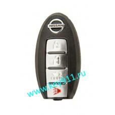 Корпус смарт ключа Ниссан (Nissan) | 4 кнопки
