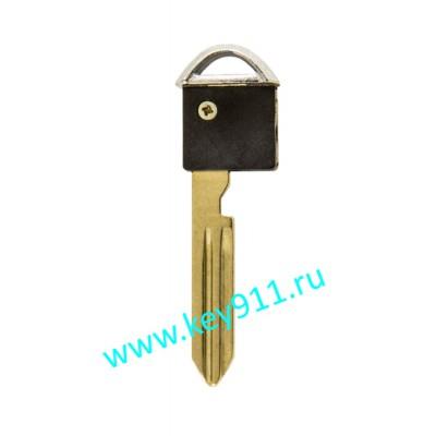 Лезвие вставка для смарт ключа Ниссан (Nissan) | NSN14 | PCF7936
