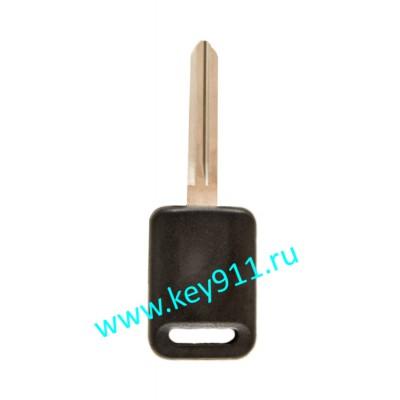 Заготовка ключа Ниссан (Nissan) | NSN14 | под чип TPX