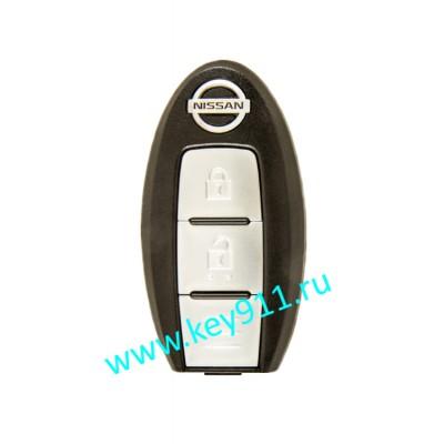 Корпус смарт ключа Ниссан (Nissan) | 2 кнопки