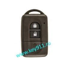 Корпус смарт ключа Ниссан (Nissan) | NSN14 | 2 кнопки
