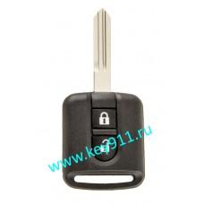 Корпус ключа Ниссан (Nissan) | NSN14 | 2 кнопки