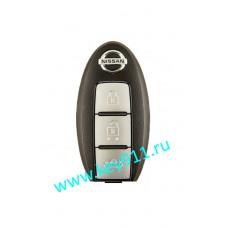 "Интеллектуальный ключ Ниссан Теана J32R (Intelligent key Nissan Teana J32R)  | с кнопкой ""START-STOP"" | 433MHz | PCF7952 | 2008 - 2014 | 5WK49609 | Оригинал"
