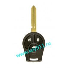 Корпус ключа Ниссан Жук (Nissan Juke)   NSN14   3 кнопки