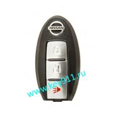 Корпус смарт ключа Ниссан (Nissan) | 3 кнопки