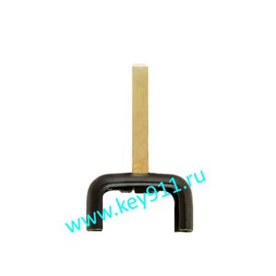 Передняя часть ключа Опель (Opel) | HU100 | Short