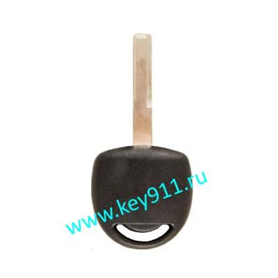 Заготовка ключа Опель (Opel) | HU43 | под чип