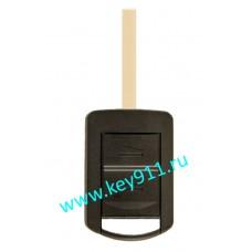 Ключ для Опель Агила, Комбо, Корса (Opel Agila, Combo, Corsa) | HU100 | 433MHz | 2 кнопки