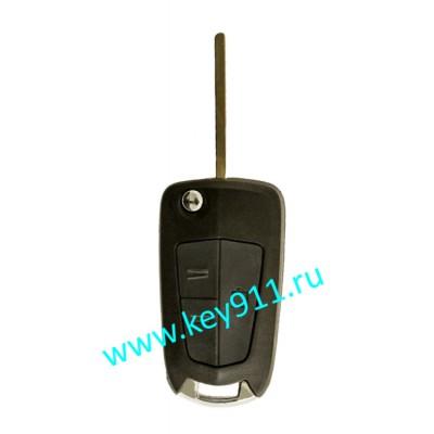 Корпус выкидного ключа Опель (Opel)   HU100   3 кнопки