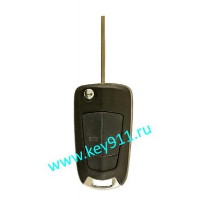 Корпус выкидного ключа Опель (Opel) | HU100 | 2 кнопки