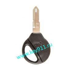 Заготовка ключа Пежо (Peugeot) | NE73 | под чип