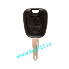 Корпус ключа Пежо (Peugeot) | NE73 | 2 кнопки