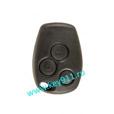Ключ для Рено Логан, Сандеро (Renault Logan, Sandero) | PCF7946 | 433MHz | 3 кнопки