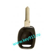 Заготовка ключа Рено (Renault) | HU136 | под чип