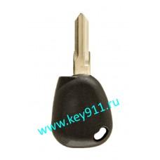 Заготовка ключа Рено (Renault) | VAC102 | под чип