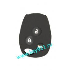Силиконовый чехол для ключа Рено (Renault)   3 кнопки