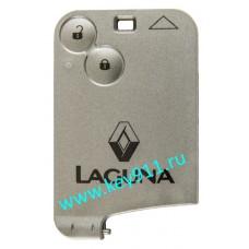 Корпус смарт карты Рено Лагуна II (Renault Laguna II) | 2 кнопки